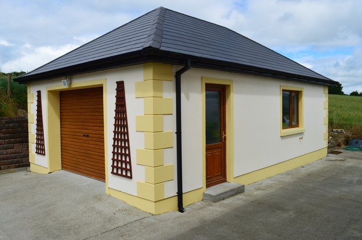 Ballyholey near raphoe co donegal for Detached home office