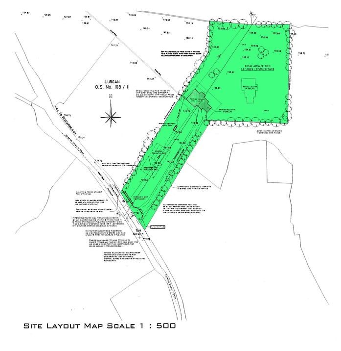 Planning Map - Site Layout
