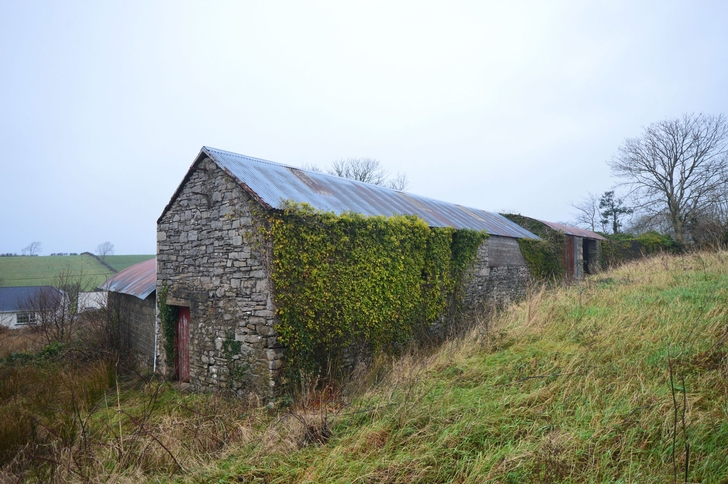 View of Rear of Farmbuildings
