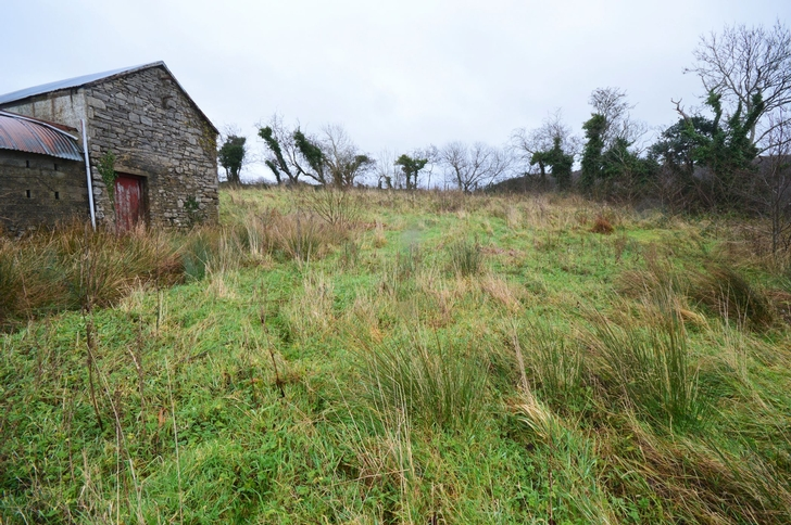View of Land at Side of House and Farmbuildings