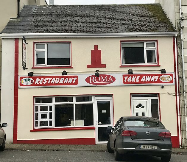 Roma Takeaway, High St, Ballinamore, Co. Leitrim