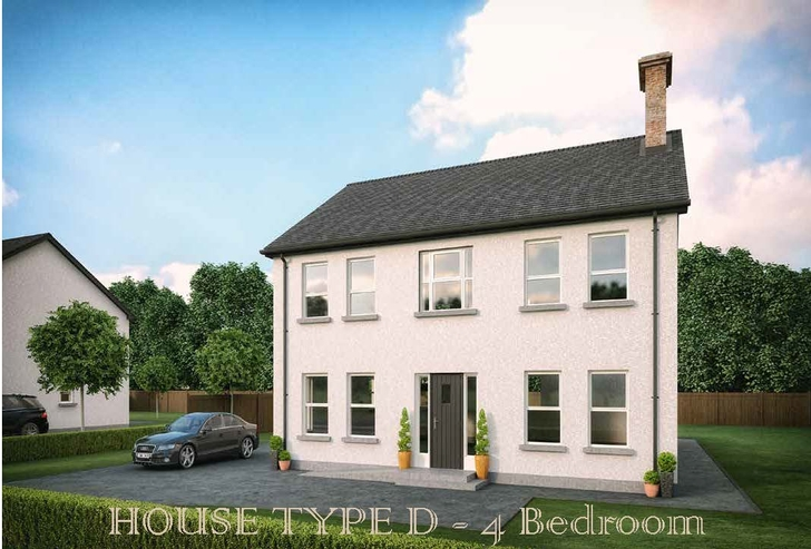 Derrywinnin Heights, Bush Road, Coalisland, Co Tyrone - House Type D