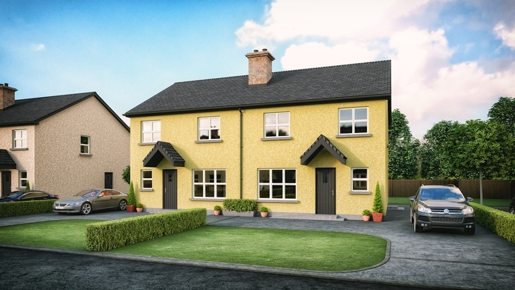 Derrywinnin Heights, Bush Road, Coalisland, Co Tyrone - 3 bedroom Semi detached