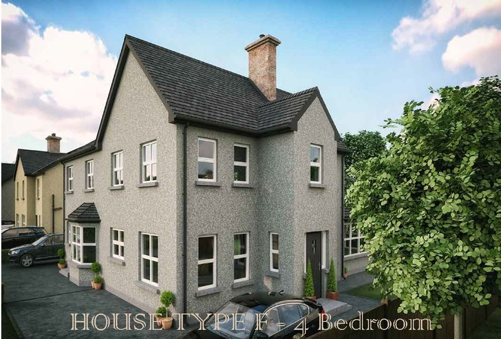 Derrywinnin Heights, Bush Road, Coalisland, Co Tyrone - House Type F2