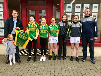 Gordon Hughes Estate Agents proud sponsors of Leitrim Ladies GAA Underage team 2018